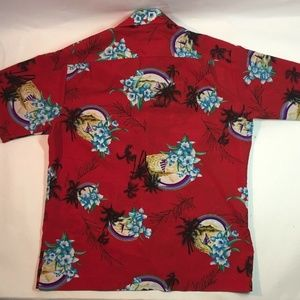 Hilo Hattie Shirts - Vintage 70s Hilo Hattie Hawaiian Floral Shirt